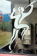 British Telecommunications piper logo phone box