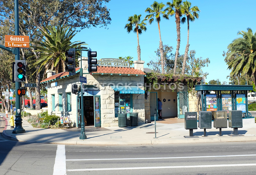 Chamber of Commerce Visitor Center in Santa Barbara