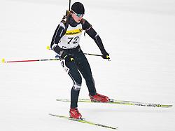 11.12.2010, Biathlonzentrum, Obertilliach, AUT, Biathlon Austriacup, Sprint Lady, im Bild Cindy Philipp (GER, #72). EXPA Pictures © 2010, PhotoCredit: EXPA/ J. Groder