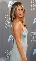 Jennifer Aniston attending the 21st Annual Critics' Choice Awards held at Barker Hanger at the Santa Monica Airport, Los Angeles.