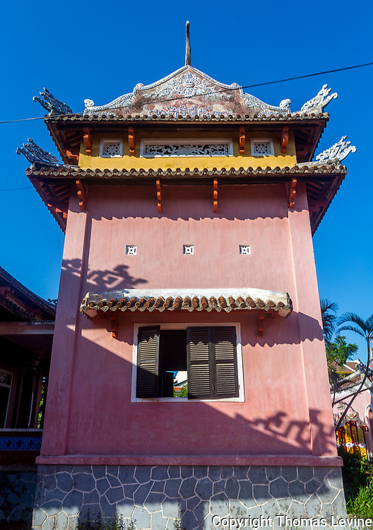 One of the buidling at Confucius Temple<br /> Miếu Thờ Khổng Tử, Hoi An, quang Nam.