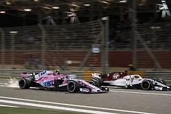 April 8, 2018 - Sakhir, Bahrain - Motorsports: FIA Formula One World Championship 2018, Grand Prix of Bahrain,#31 Esteban Ocon (Sahara Force India F1 Team) (Credit Image: © Hoch Zwei via ZUMA Wire)