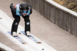 February 7, 2019 - Ljubno, Savinjska, Slovenia - Josephine Pagnier of France competes on qualification day of the FIS Ski Jumping World Cup Ladies Ljubno on February 7, 2019 in Ljubno, Slovenia. (Credit Image: © Rok Rakun/Pacific Press via ZUMA Wire)
