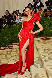 Deepika Padukone attending the Costume Institute Benefit at The Metropolitan Museum of Art celebrating the opening of Heavenly Bodies: Fashion and the Catholic Imagination. The Metropolitan Museum of Art, New York City, New York, May 7, 2018. Photo by Lionel Hahn/ABACAPRESS.COM