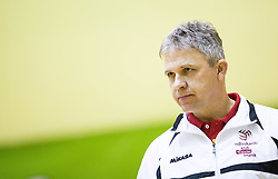 Bruno Najdic, head coach of Nova KBM Branik during volleyball match between Nova KBM Branik Maribor and OK Luka Koper in Final of Women Slovenian Cup 2014/15, on January 18, 2015 in Sempeter v Savinjski dolini, Slovenia. Photo by Vid Ponikvar / Sportida