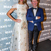 NLD/Amsterdam/20161208 - Vipnight 10de Masters of LXRY, Addy van den Krommenacker model die zijn nieuwe sierradenlijn draagt uit de collectie Bosch by Addy