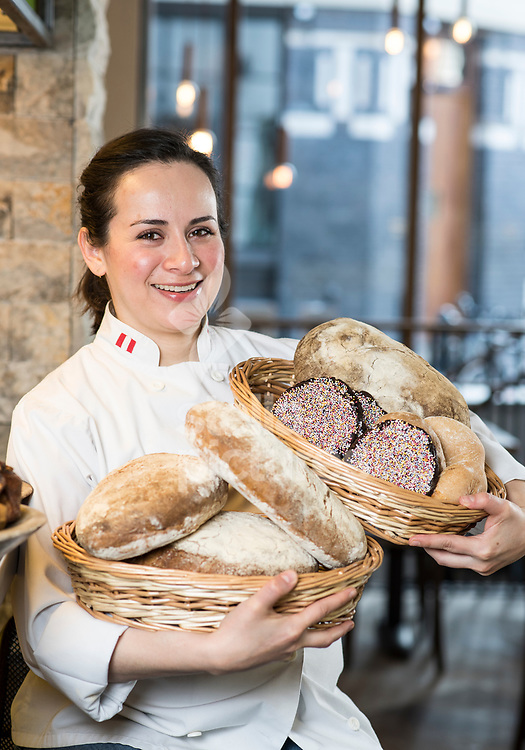 Mexican baker Ana Velazquez<br /> Velazquez will be head pastry chef at Andina, Panaderia, Westbourne Grove<br /> Picture by Daniel Hambury/@stellapicsltd 07813022858<br /> 21/03/2018