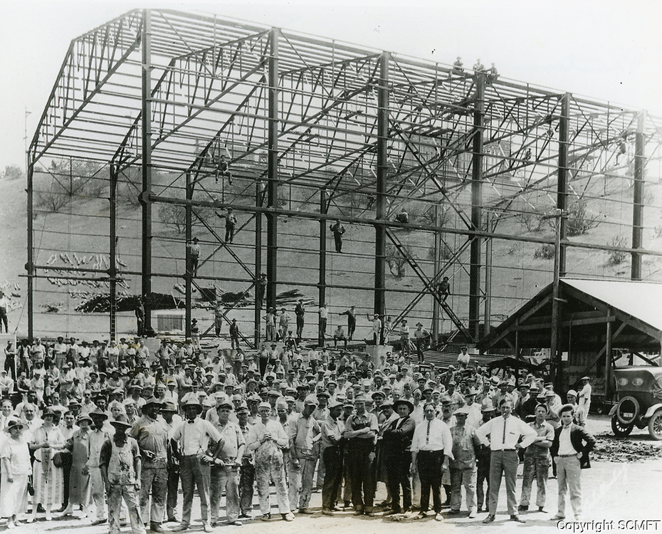 1924 Phantom Of The Opera stage at Universal Studios