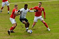 Football - 2020 / 2021 Sky Bet Championship - Swansea City vs Barnsley - Liberty Stadium<br /> <br /> Swansea goalscorer Jamal Lowe  on the ball<br /> <br /> COLORSPORT/WINSTON BYNORTH