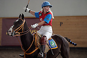 Moscow, Russia, 20/09/2003..The opening day of the Moscow Polo Club, featuring the Russian Polo Cup 2003, the first event of its kind in Russia since the 1917 Bolshevik revolution. Vladlena Bernardoni-Belolipskaya, the only Russian player, competes against players from Mexico, India, Brasil, Italy, France, Argentina & Great Britain...