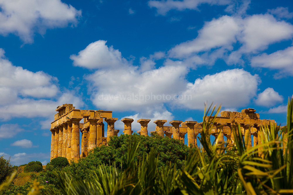 Selinunte an ancient Greek city in south west Sicily, Italy