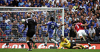 Photo: Paul Thomas.<br /> Chelsea v Manchester United. The FA Cup Final. 19/05/2007.<br /> <br /> Didier Drogba (11) of Chelsea scores.
