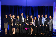 Bay Area Corporate Counsel Award winners pose for a photo during the Bay Area Corporate Counsel Awards at The Westin San Francisco Airport in Millbrae, California, on March 18, 2019. (Stan Olszewski for Silicon Valley Business Journal)