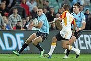 Rob Horne. Waratahs v Chiefs. 2013 Investec Super Rugby Season. Allianz Stadium, Sydney. Friday 19 April 2013. Photo: Clay Cross / photosport.co.nz