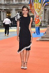 Viscountess Weymouth at the Royal Academy of Arts Summer Exhibition Preview Party 2017, Burlington House, London England. 7 June 2017.