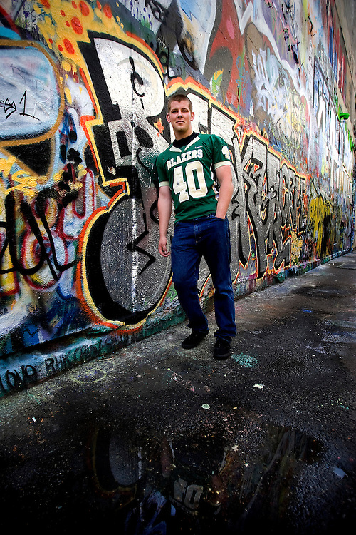 Senior Portrait Photography with Dylan