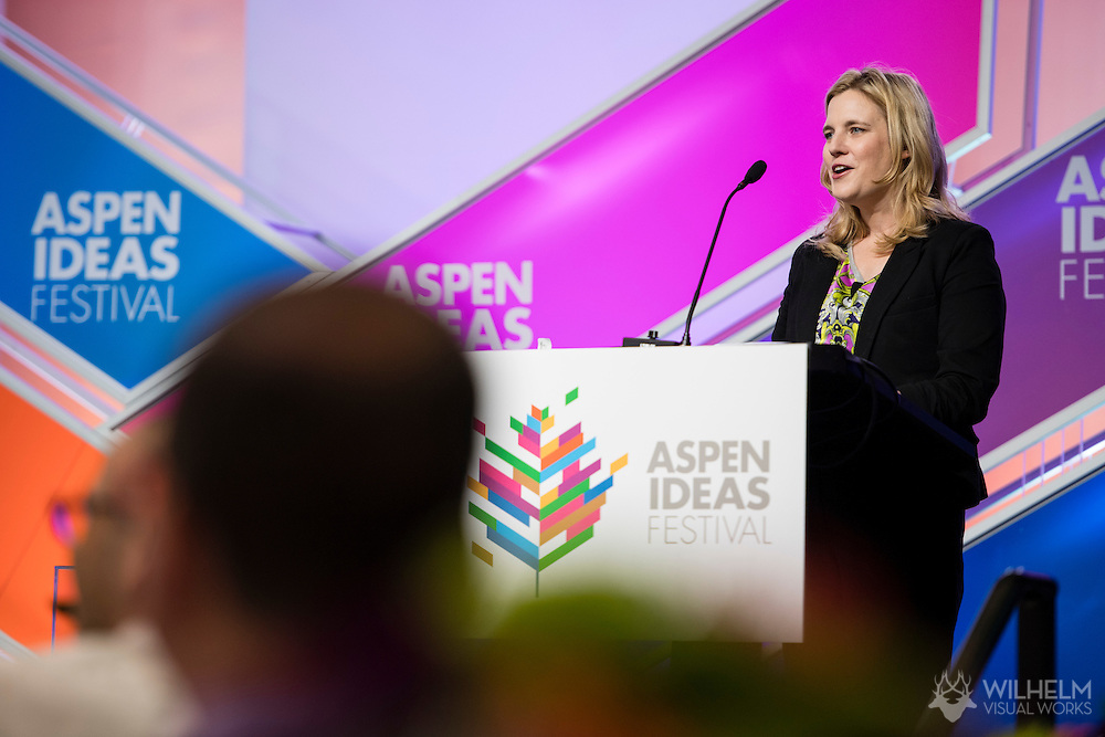 The Booz Allen Aspen Ideas Award of Festival Session 1 during the 2016 Aspen Ideas Festival in Aspen, CO. ©Brett Wilhelm