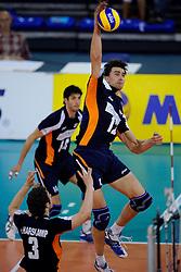 08-07-2010 VOLLEYBAL: WLV NEDERLAND - ZUID KOREA: EINDHOVEN<br /> Nederland verslaat Zuid Korea met 3-0 / Wytze Kooistra<br /> ©2010-WWW.FOTOHOOGENDOORN.NL