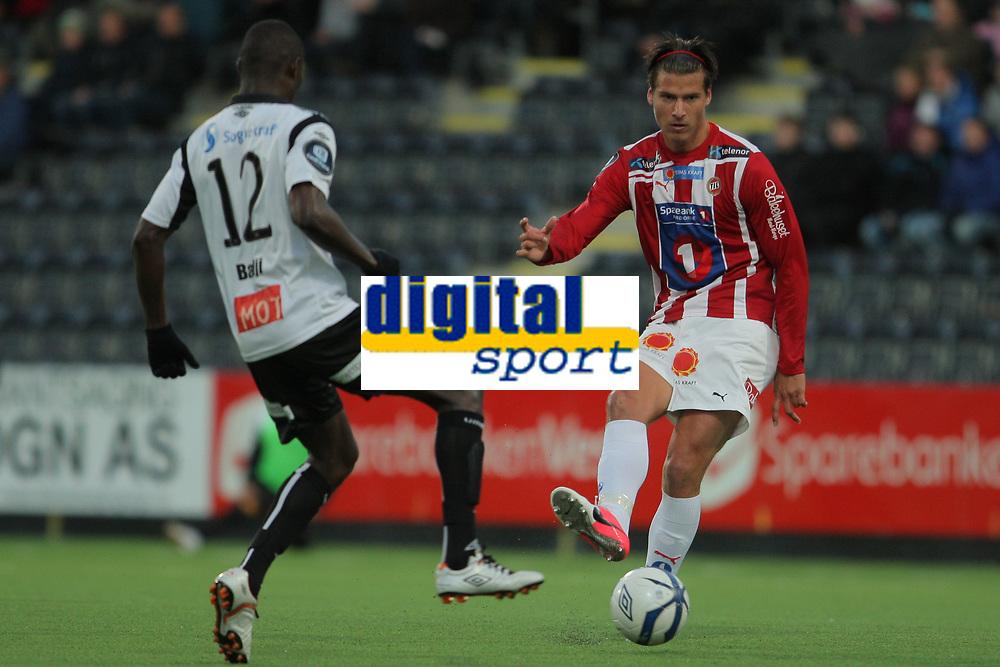 Fotball , 23. sept 2012, Tippeligaen Eliteserien , Sogndal - Tromsø<br /> <br /> Foto: Christian Blom , Digitalsport