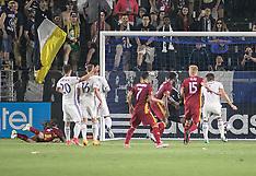 Real Salt Lake vs LA Galaxy 4 July 2017