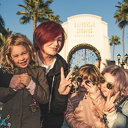 """Kelly Osbourne releases a photo on Instagram with the following caption: """"I had the most wonderful day at Universal with my family, The Wizarding World of Harry Potter was spectacular and the snowfall absolutely beautiful. @unistudios #UniversalStudiosHollywood"""". Photo Credit: Instagram *** No USA Distribution *** For Editorial Use Only *** Not to be Published in Books or Photo Books ***  Please note: Fees charged by the agency are for the agency's services only, and do not, nor are they intended to, convey to the user any ownership of Copyright or License in the material. The agency does not claim any ownership including but not limited to Copyright or License in the attached material. By publishing this material you expressly agree to indemnify and to hold the agency and its directors, shareholders and employees harmless from any loss, claims, damages, demands, expenses (including legal fees), or any causes of action or allegation against the agency arising out of or connected in any way with publication of the material."""