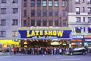 The Late Show With Dave Letterman, 1990's, Ed Sullivan Theater, Manhattan, New York