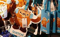 Feature / Reportasje<br /> OL 2010 Vancouver Canada<br /> Foto: Gepa/Digitalsport<br /> NORWAY ONLY<br /> <br /> Vorschau auf die Olympischen Winterspiele 2010 in Vancouver. <br /> <br /> Bild zeigt Souvenirs von dem Maskottchen Quatschi