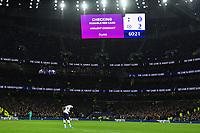 Football - 2019 / 2020 Premier League - Tottenham Hotspur vs. Chelsea<br /> <br /> VAR checks on Tottenham Hotspur's Son Heung-Min's challenge leading to his red card, at The Tottenham Hotspur Stadium.<br /> <br /> COLORSPORT/ASHLEY WESTERN