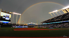 Rainbow over Kauffman, June 16, 2010