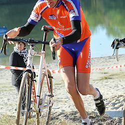 GOW veldrijden<br />Rudi Weustink