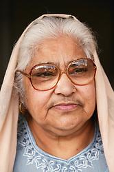 Portrait of South Asian lady,
