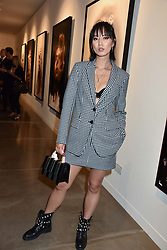Betty Bachz at the launch of the new JD Malat Gallery, 30 Davies Street, London, England. 05 June 2018.