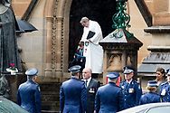 Funeral of Constable Aaron Vidal at St Mary's Cathedral. Constable Aaron Vidal, aged 28, was travelling home after completing his duties at Sydney City Police Area Command (Thursday 18 June 2020) when he was struck by a utility about 5.45pm and died at the scene. (Photo by Pete Dovgan/ Speed Media)