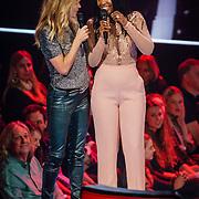 NLD/Hilversum/20190201- TVOH 2019 1e liveshow, Wendy van Dijk en Talita Blijd
