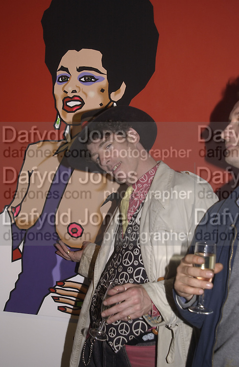 Gaz Mayall. Gimme 5. Fairbairn and Astor,  Gallery 130 Acklam Rd. W10.  © Copyright Photograph by Dafydd Jones 66 Stockwell Park Rd. London SW9 0DA Tel 020 7733 0108 www.dafjones.com