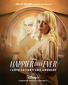 """September 03, 2021 - USA: Disney Plus """"Happier Than Ever A Love Letter To Los Angeles"""" Release"""