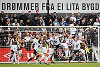 Fotball <br /> Tippeligaen<br /> 12.05.2015<br /> Mjøndalen v Rosenborg 3:2<br /> Foto: Morten Olsen/Digitalsport<br /> <br /> Drømmer fra ei lita bygd<br /> Reklame Mjøndalen