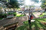 Entre Rios de Minas_MG, Brasil...Praca em Entre Rios...The square in Entre Rios...Foto: PEDRO SILVEIRA /  NITRO