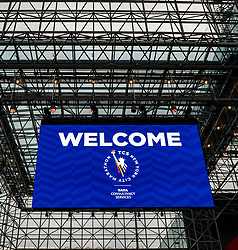 02-11-2018 USA: NYC Marathon We Run 2 Change Diabetes day 1, New York<br /> The day to get up for your number at the Expo / item expo