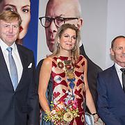 NLD/'Amsterdam/20170915 - Willem-Alexander en Máxima bij première 'Ode aan de Meester', Koningin Maxima en Koning Willem Alexander, Ted Brandsen, Hans van Manen
