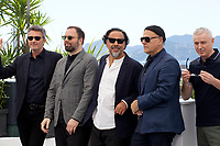 Directors Pawel Pawlikowski, Yorgos Lanthimos, Alejandro Gonzalez Inarritu, Enki Bilal and Robin Campillo at the Jury photo call at the 72nd Cannes Film Festival, Tuesday 14th May 2019, Cannes, France. Photo credit: Doreen Kennedy