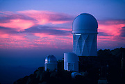 Kitt Peak National Astronomical Observatory, 4-meter Mayall Telescope top right.©1989 Edward McCain. All rights reserved. McCain Photography, McCain Creative, Inc.
