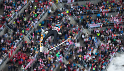 05.02.2017, Heini Klopfer Skiflugschanze, Oberstdorf, GER, FIS Weltcup Ski Sprung, Oberstdorf, Skifliegen, im Bild Denis Kornilov (RUS) // Denis Kornilov of Russia during mens FIS Ski Flying World Cup at the Heini Klopfer Skiflugschanze in Oberstdorf, Germany on 2017/02/05. EXPA Pictures © 2017, PhotoCredit: EXPA/ Peter Rinderer