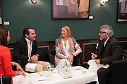 ALEXANDRA MEYERS; NIKOLAOS OF GREECE; TATIANA OF GREECE; ROBERT BENSOUSSAN, Lunch at the Ivy Club pop up-restaurant during the preview of Masterpiece Art Fair. Co-hosted by  Count & Countess Filippo Guerrini-Maraldi, and Lord<br /> Dick Daventry. 26 June 2013