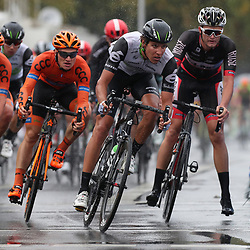 MUNSTER (GER) cycling  The last international race of the German cycling season is the Sparkasse Munsterland Giro. The start in 2016 was in Gronau and the finish after 20o km in Munster. Wet conditions on the final rounds in Munster