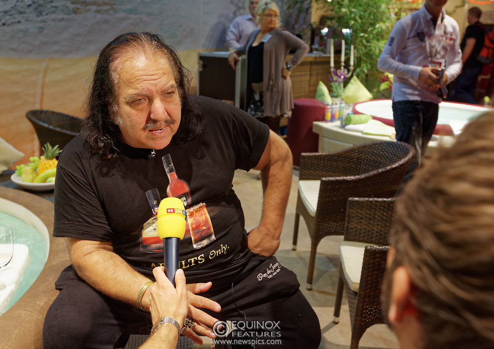 Berlin, Germany - 18 October 2012<br /> Porn star Ron Jeremy promoting his 'Ron Jeremy' brand of rum at the Venus Berlin 2012 adult industry exhibition in Berlin, Germany. Ron Jeremy, born Ronald Jeremy Hyatt, has been an American pornographic actor since 1979. He faces sexual assault allegations which he strenuously denies. There is no suggestion that any of the people in these pictures have made any such allegations.<br /> www.newspics.com/#!/contact<br /> (photo by: EQUINOXFEATURES.COM)<br /> Picture Data:<br /> Photographer: Equinox Features<br /> Copyright: ©2012 Equinox Licensing Ltd. +448700 780000<br /> Contact: Equinox Features<br /> Date Taken: 20121018<br /> Time Taken: 12175254