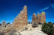 Indian ruins at Hovenweep National Monument.