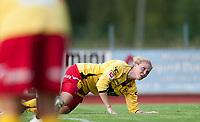 Fotball<br /> 11. September 2013<br /> Toppserien<br /> Arna-Bjørnar v Lillestrøm<br /> Isabell Herlovsen , Lillestrøm nede for telling da de tapte 5 - 1 for Arna-Bjørnar <br /> Foto: Astrid M. Nordhaug