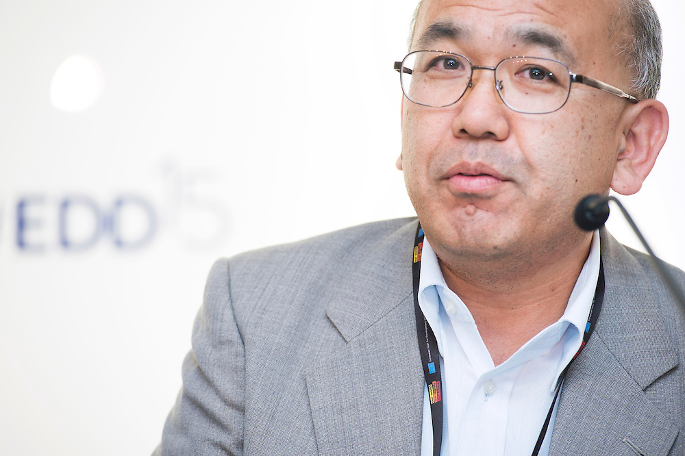 03 June 2015 - Belgium - Brussels - European Development Days - EDD - Health - Refugees and internally displaced persons - Right to health , right to life - Akihiro Seita<br /> Director of Health, United Nations Relief and Works Agency for Palestine Refugees in the Near East (UNRWA) © European Union