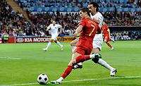 Christiano Ronaldo (POR) gegen Servet Cetin  (TUR). © Manu Friederich/EQ Images